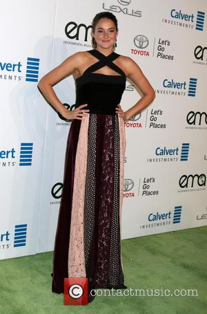 Shailene Woodley arriving at the 26th Annual Environmental Media Awards (EMA's) held at Warner Brothers Studios, Los Angeles, California, United...