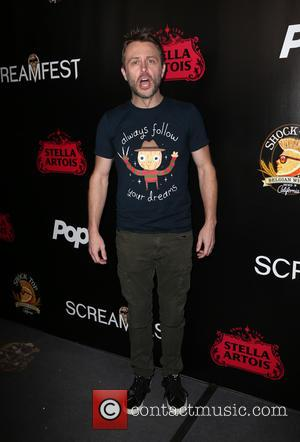 Chris Hardwick at the Screamfest 2016 premiere of 'The Master Cleanse' held at TCL Chinese Theatre, Hollywood, California, United States...