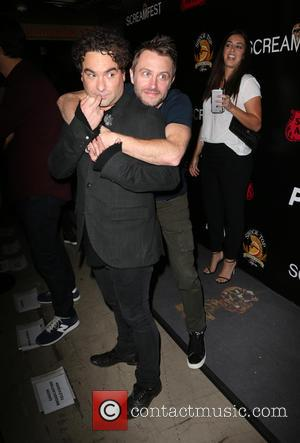Johnny Galecki and Chris Hardwick