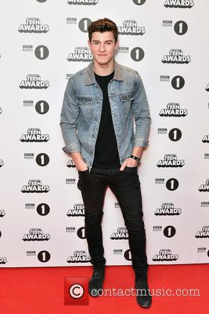 Shawn Mendes seen at BBC Radio 1's Teen Awards held at the Wembley Arena, London, United Kingdom - Sunday 23rd...