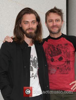 Tom Payne and Chris Hardwick