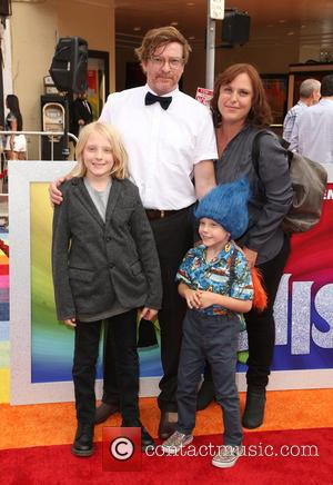 Rhys Darby and Family