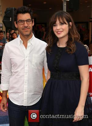 Zooey Deschanel and Jacob Pechenik