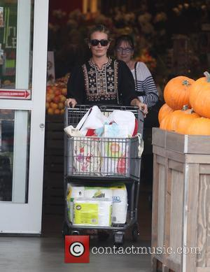 Cat Deeley goes grocery shopping with her mom Janet Deeley at Bristol Farms, Beverly Hills, California, United States - Monday...