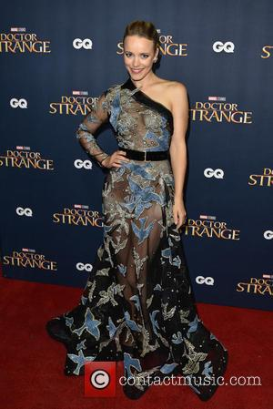Rachel McAdams seen at the 'Doctor Strange' launch event. Rachel plays the role of Christine Palmer in the film. The...