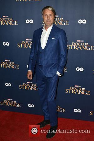 Mads Mikkelsen seen at the 'Doctor Strange' launch event. Mads plays the role of Kaecilius in the film. The event...