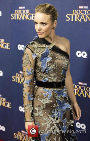 Rachel McAdams seen at the 'Doctor Strange' launch event held at The Cloisters, Westminster Abbey, London, United Kingdom - Monday...