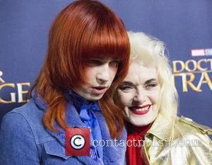 Pam Hogg seen at the 'Doctor Strange' launch event held at The Cloisters, Westminster Abbey, London, United Kingdom - Monday...