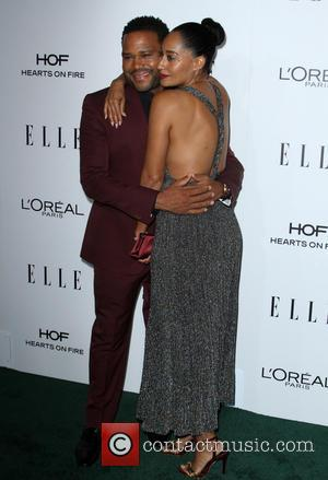 Anthony Anderson and Tracee Ellis Ross at the ELLE Women in Hollywood Awards held at the Four Seasons Hotel, Los...