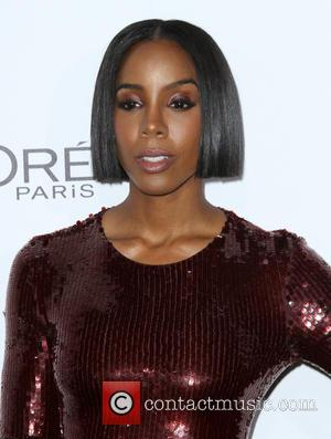 Kelly Rowland seen alone and with Michelle Williams at the ELLE Women in Hollywood Awards held at the Four Seasons...