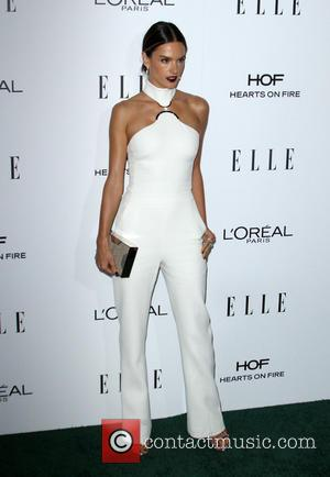 Alessandra Ambrosio at the ELLE Women in Hollywood Awards held at the Four Seasons Hotel, Los Angeles, California, United States...