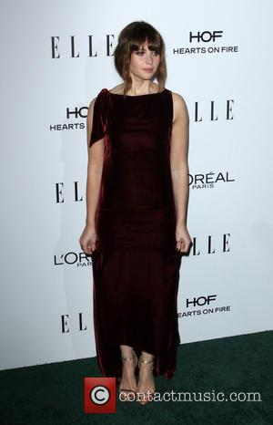 Felicity Jones at the ELLE Women in Hollywood Awards held at the Four Seasons Hotel, Los Angeles, California, United States...