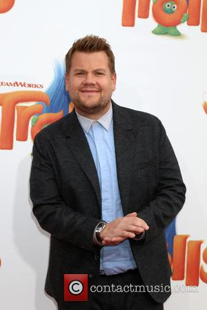 James Corden at the Premiere of the new Trolls movie held at the Village Theatre, Westwood, California, United States -...