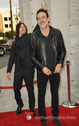Jeffrey Dean Morgan seen at a special edition of 'The Walking Dead's Talking Dead' presented by AMC - Los Angeles,...