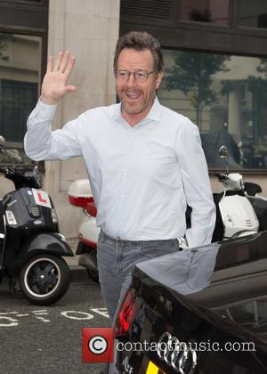 Bryan Cranston pictured arriving at the Radio 2 studio at BBC Broadcasting House, London, United Kingdom - Tuesday 25th October...