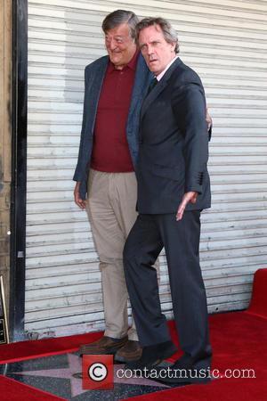 Stephen Fry and Hugh Laurie