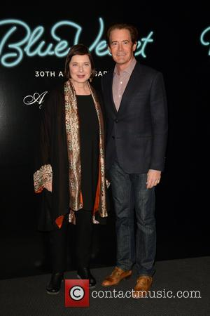 Isabella Rossellini and Kyle Maclachlan