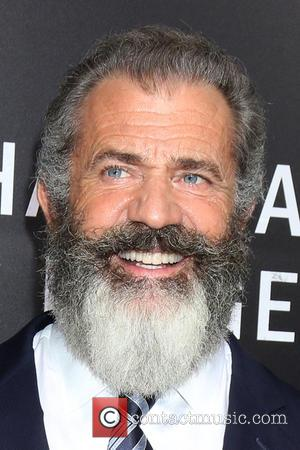 Director Mel Gibson at a screening of
