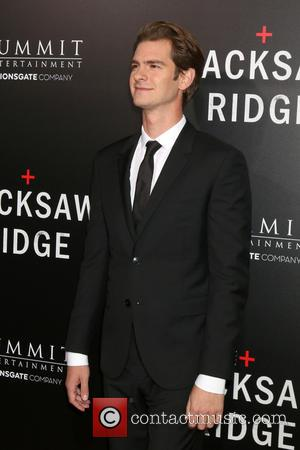 Andrew Garfield seen alone and with co-star Teresa Palmer at a screening of