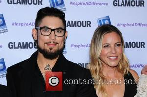 Dave Navarro and Maria Bello