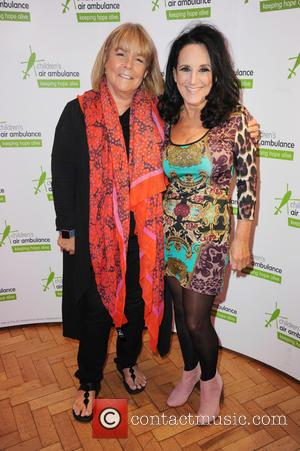 Linda Robson and Lesley Josephr seen at the launch of a new cookbook written by chocolatier and pâtissier Paul A...