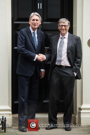Bill Gates and Philip Hammond