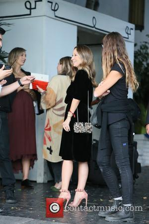 Jennifer Meyer seen arriving at the CFDA Vogue party held at Chateau Marmont, Los Angeles, California, United States - Wednesday...
