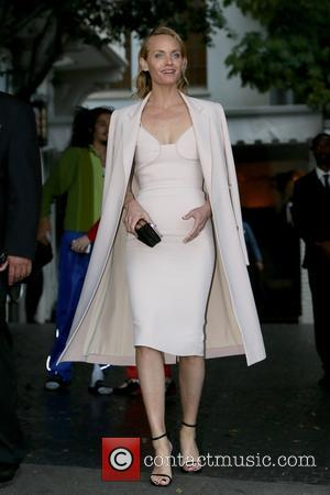 Amber Valletta seen attending the CFDA Vogue party held at Chateau Marmont, Los Angeles, California, United States - Wednesday 26th...