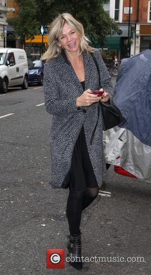 Strictly - It Takes Two host Zoë Ball pictured arriving at the Radio 2 studio at BBC Portland Place -...