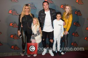 Katie Price, Princess Tiaamii, Kieran Hayler and Junior Andre