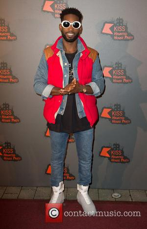 Tinie Tempah performing at the Kiss FM Haunted House Party held at Wembley Arena, London, United Kingdom - Thursday 27th...