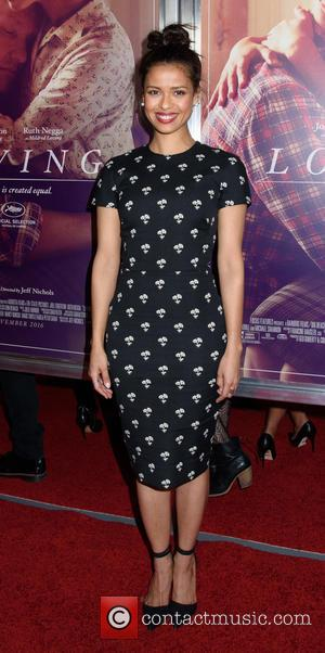 Gugu Mbatha-Raw seen at the New York premiere of 'Loving' held at the Landmark Sunshine Theater - New York, United...