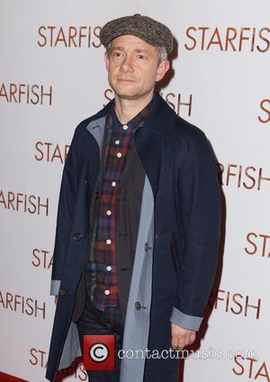 Martin Freeman on the red carpet for the UK Premiere of Starfish held at Curzon, Mayfair, London, United Kingdom -...