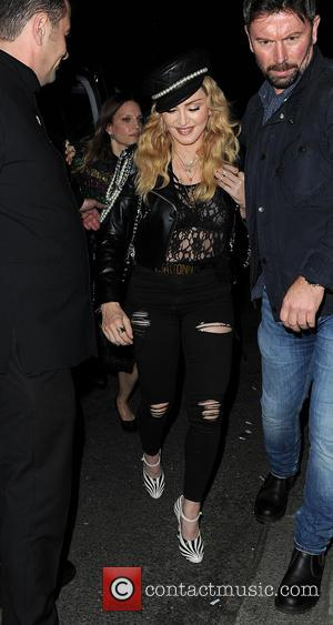 Various celebrities including Madonna attend a VIP party celebrating the works of Mert & Marcus held at Mark's Club -...
