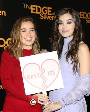 Haley Lu Richardson and Hailee Steinfeld at The Four Seasons Hotel