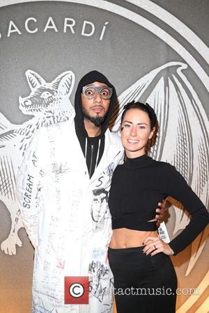 Swizz Beatz and Liz Walaszczyk