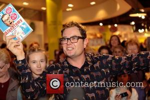 Alan Carr signs copies of his book 'Alanatomy' at Easons on O'Connell Street, Dublin, Ireland - Saturday 29th October 2016