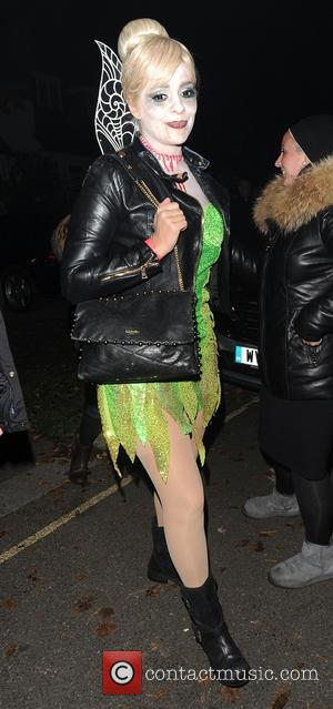 Holly Willoughby attends Jonathan Ross' annual Halloween party held at his home - London, United Kingdom - Monday 31st October...