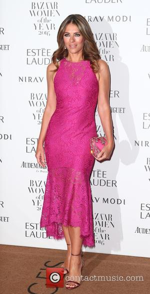Elizabeth Hurley at Harper's Bazaar Women of the Year awards held at Claridge's - London, United Kingdom - Monday 31st...