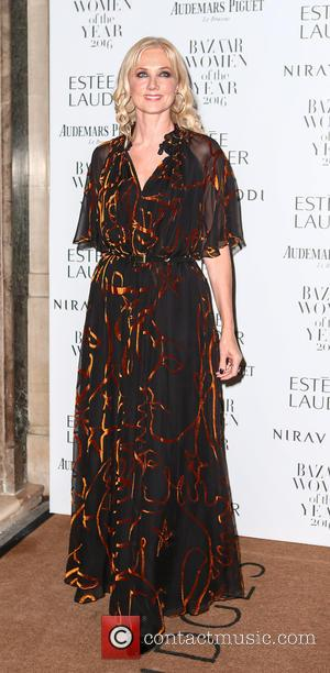 Joely Richardson at Harper's Bazaar Women of the Year awards held at Claridge's - London, United Kingdom - Monday 31st...