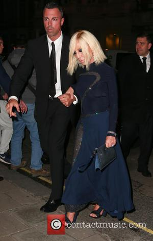 Donatella Versace at Harper's Bazaar Women of the Year awards held at Claridge's - London, United Kingdom - Monday 31st...