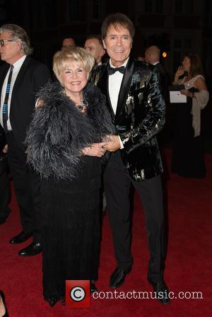 Gloria Hunniford and Cliff Richard at the 2016 The Pride of Britain Awards held at the Grosvenor Hotel, London, United...