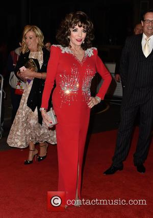 Dame Joan Collins at the 2016 The Pride of Britain Awards held at the Grosvenor Hotel, London, United Kingdom -...