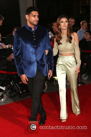 Amir Khan and Faryal Makhdoom at the 2016 The Pride of Britain Awards held at the Grosvenor Hotel, London, United...