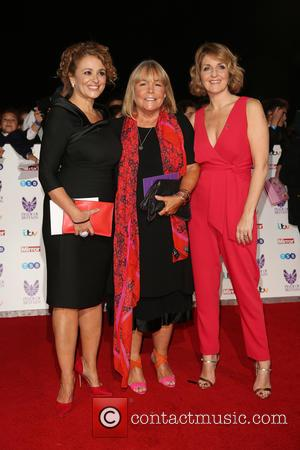 Nadia Sawalha, Linda Robson and Kay Adams at the 2016 The Pride of Britain Awards held at the Grosvenor Hotel,...