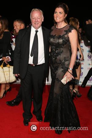 Les Dennis and Claire Nicholson at the 2016 The Pride of Britain Awards held at the Grosvenor Hotel, London, United...