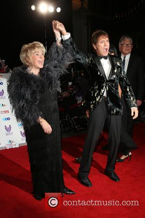 Gloria Hunniford and Cliff Richard
