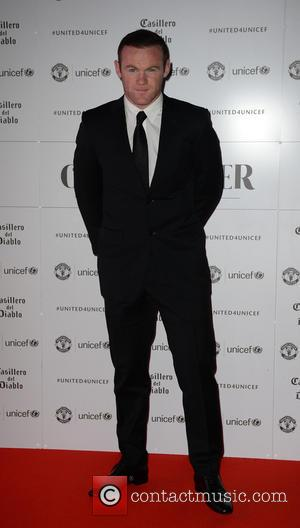 Wayne Rooney attends the United for Unicef Gala Dinner attended by Manchester United manager José Mourinho and the first-team squad...
