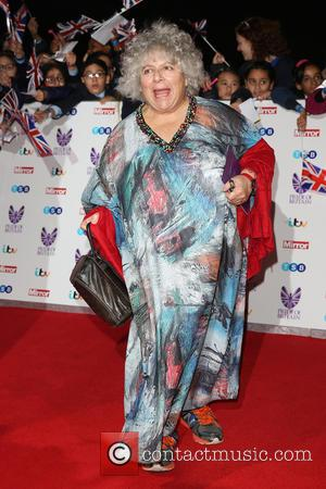 Miriam Margolyes at the 2016 The Pride of Britain Awards held at The Grosvenor Hotel, London, United Kingdom - Monday...