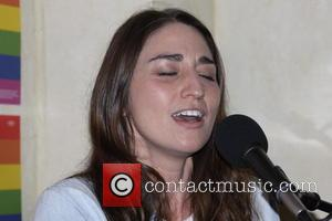 Musician Sara Bareilles campaigns for Hillary Clinton with a performance at Knock Restaurant and Bar in Philadelphia, Pennsylvania, United States...